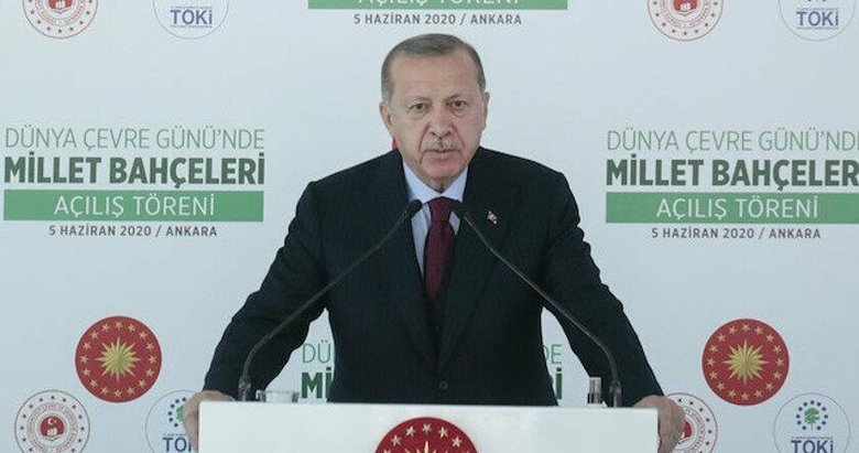 10 yeni millet bahçesi açılışı! Başkan Erdoğan'dan önemli mesajlar