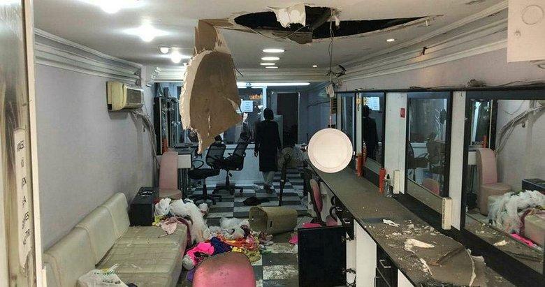 Akılalmaz yöntem! Çatıları delen hırsızlar iş yerlerinden 40 bin TL'lik malzeme çaldı