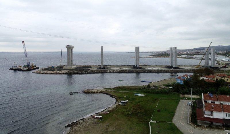 Simgelerin köprüsü Marmara'nın transit trafik yükünü sırtlayacak
