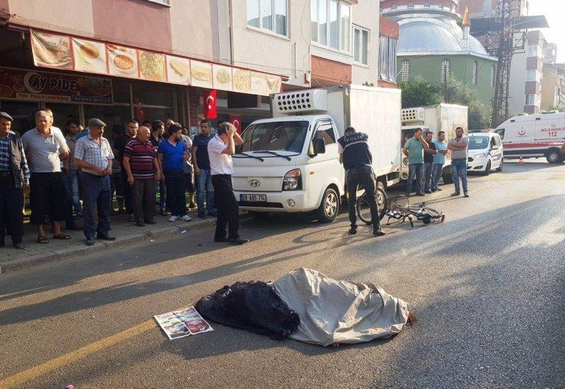 Nazilli'de yürek yakan kaza