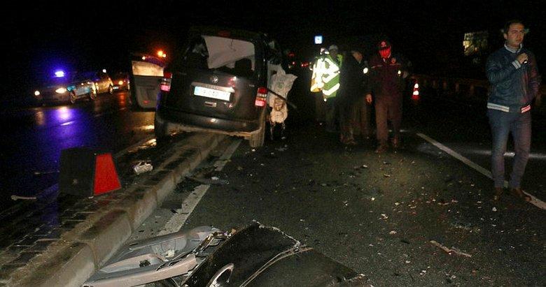 Kutlama dönüşü kaza: 3 ölü