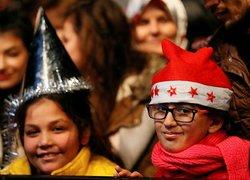 İzmirde yeni yıl coşkusu