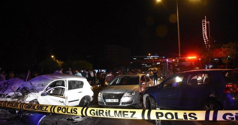 İzmirde gece yarısı feci kaza!
