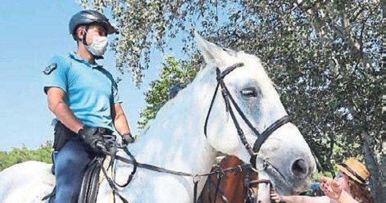 Atlı birliklere büyük ilgi