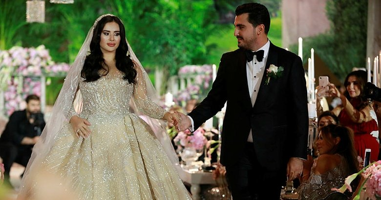 Bu düğüne yıldız yağdı