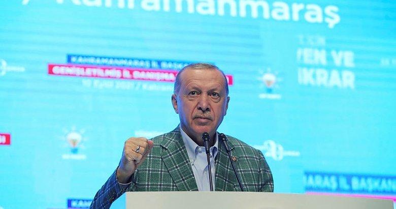 Başkan Erdoğan Kahramanmaraş'ta toplu açılış töreninde konuştu
