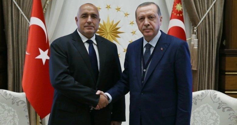 Başkan Erdoğan Boyko Borisov ve İtalya Başbakanı ile görüştü