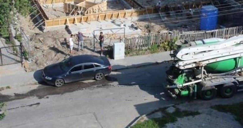 Aracını yanlış yere park edip gidince...