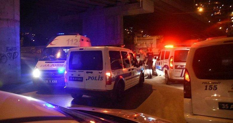 İzmir Köprüden düşen genç ağır yaralandı