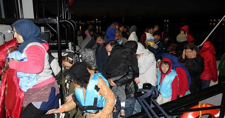 Çanakkale'de 96kaçak göçmen yakalandı