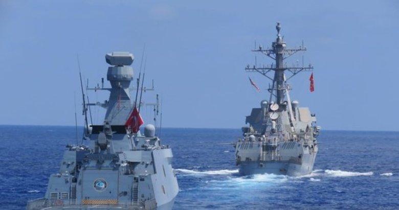 MSB: Doğu Akdeniz'de deniz eğitimleri icra edildi