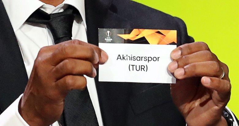 Akhisarsporun UEFA kadrosu belli oldu