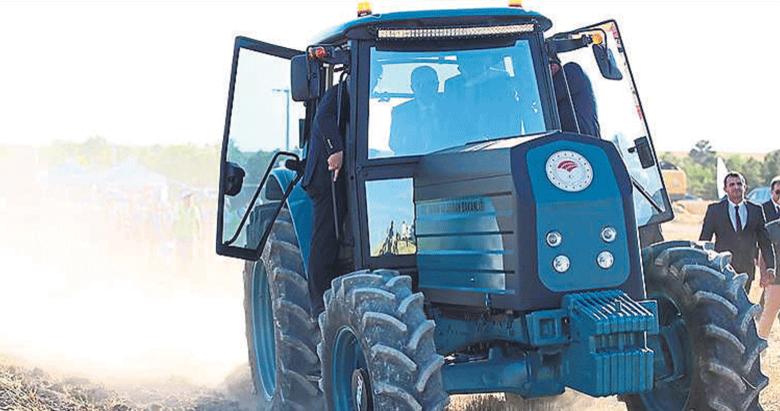 Elektrikli traktörle yılda 133 bin lira yakıt tasarrufu