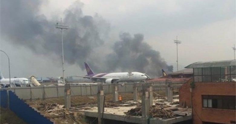 Nepal'de yolcu uçağı düştü: 38 ölü