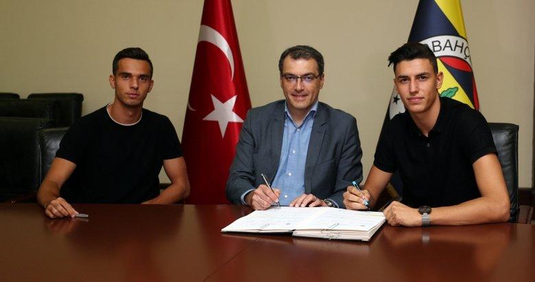 Berke Özer ve Barış Alıcı, Fenerbahçe'de