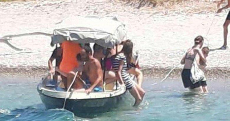 Foça'daki tekne faciası öncesi son fotoğrafları bu oldu