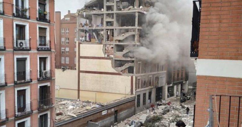 Son dakika: Madrid'de şiddetli patlama