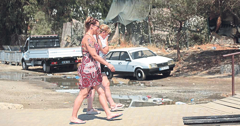 Bodrum'da kokuyu duyan turist kaçıyor!
