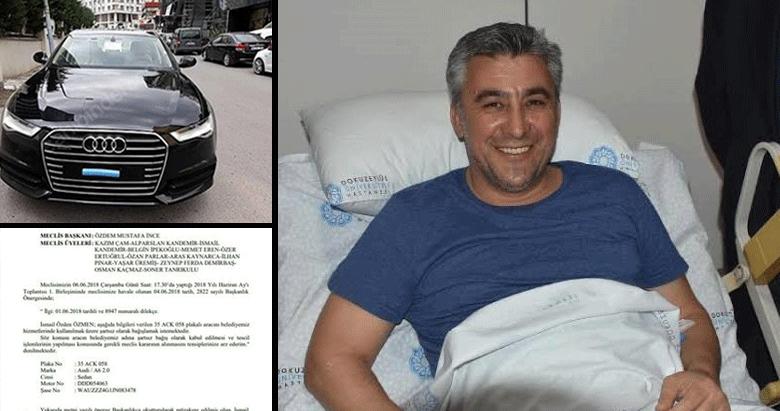 CHP'li Güzelbahçe Belediye Başkanı Mustafa İnce'den vurgun