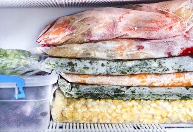 Donmuş gıdalar için kanser uyarısı! Donmuş gıdaların zararları!
