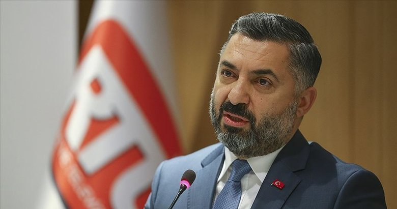RTÜK Başkanı Şahin'den CHP'nin Üst Kurul'a yönelik eleştirilerine yanıt