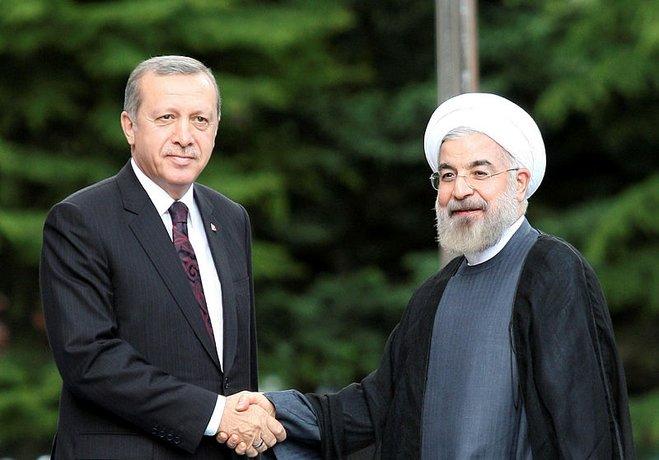 Erdoğan'dan Ruhani'ye telefon