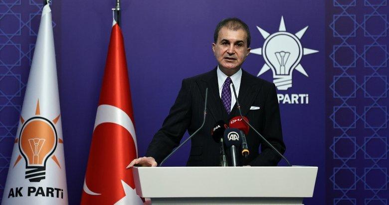 Son dakika: AK Parti MYK sonrası Ömer Çelik'ten önemli mesajlar