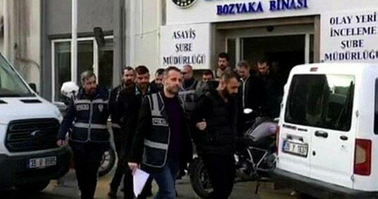 İzmir'de haraç operasyonu