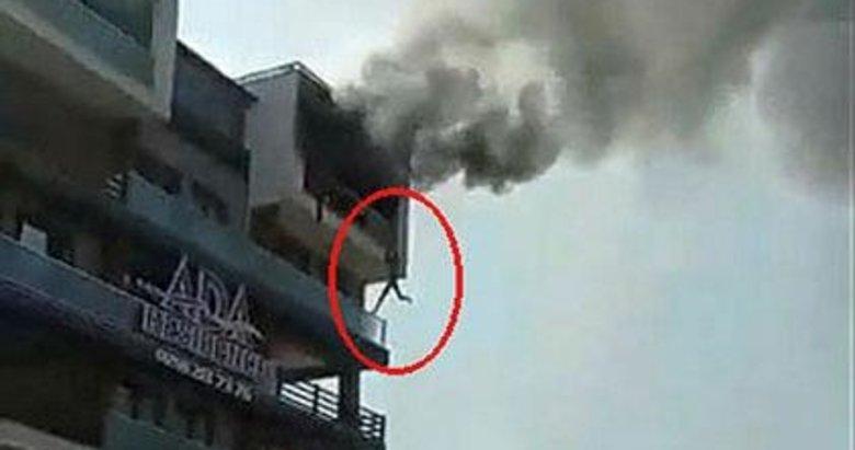Denizli'de 5 katlı apartmandaki yangını koltuğa düşen sigara çıkarmış