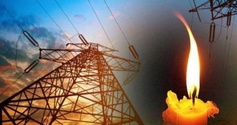 İzmir'de elektrik kesintisi 13 Ocak Çarşamba!
