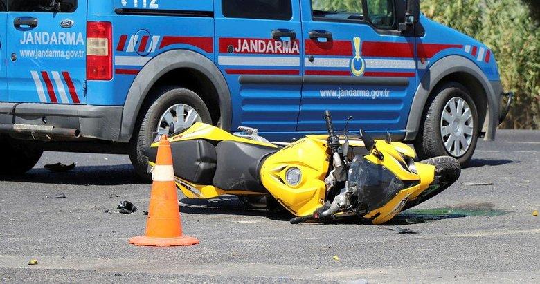 Manisada trafik kazası: 2 yaralı
