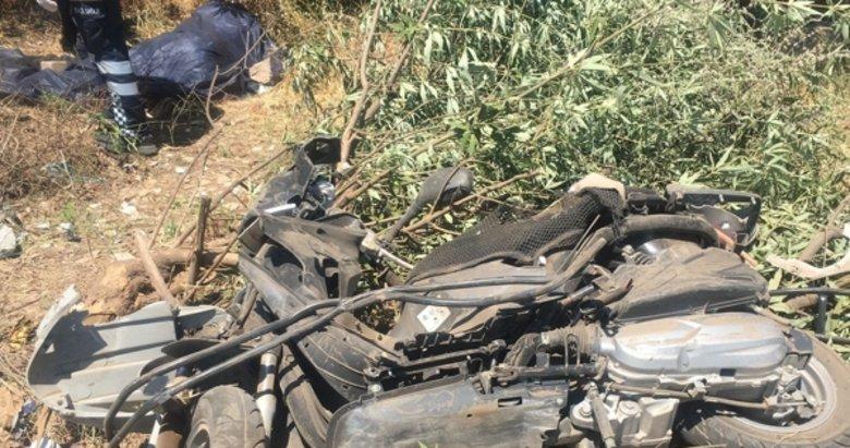 Marmaris'teki feci kaza! Baba öldü oğlu yaralandı