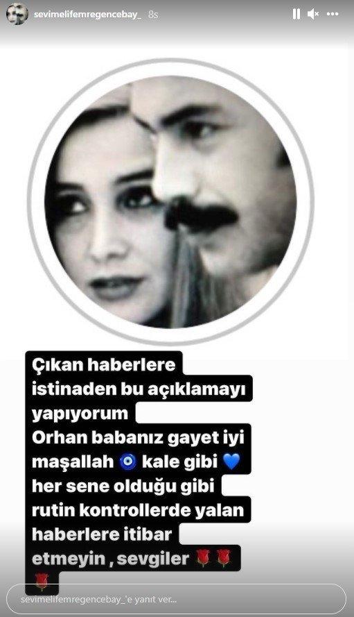 Orhan Gencebay hastalandı mı? Eşi Sevim Emre açıklama yaptı