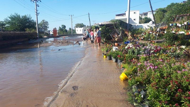 Muğla'da korkutan patlama! Bodrum'da içme suyu isale hattında patlama