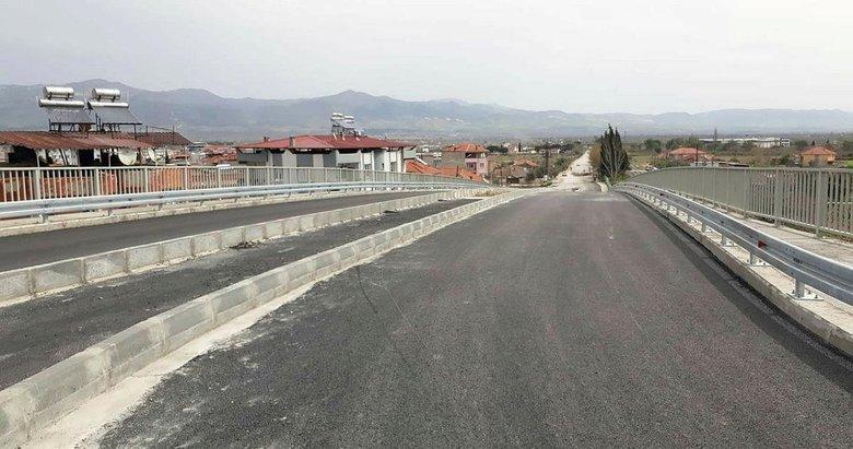 TCDD'den Alaşehir'e 15 milyonluk köprülü üst geçit