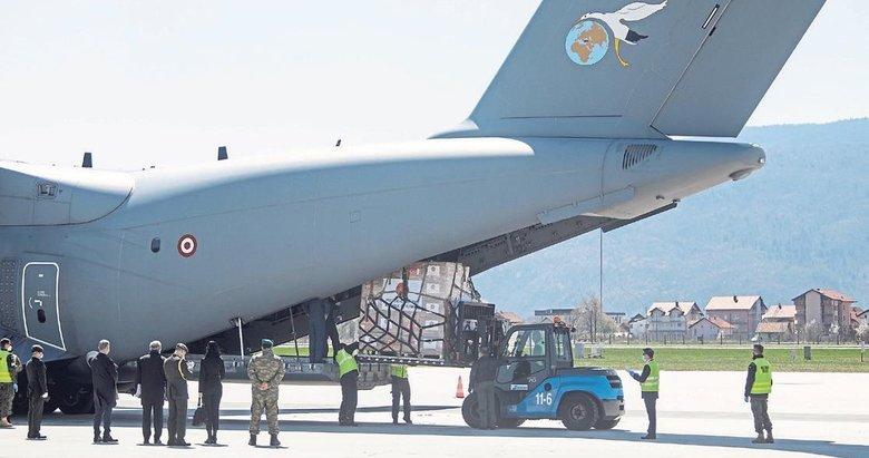 Türkiye'nin yardım eli Balkanlara uzandı