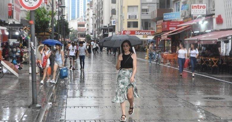 Ege ve Akdeniz kıyı bölgelerinde temmuz yağışları yüzde 80'den fazla azaldı