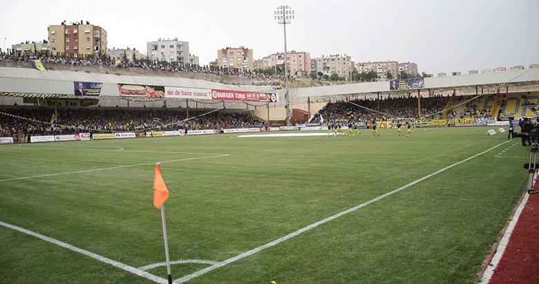 Bucaspor'un güvencesi stadı