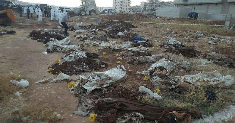 Afrin'de PKK/YPG/PYD'nin kan donduran savaş suçu