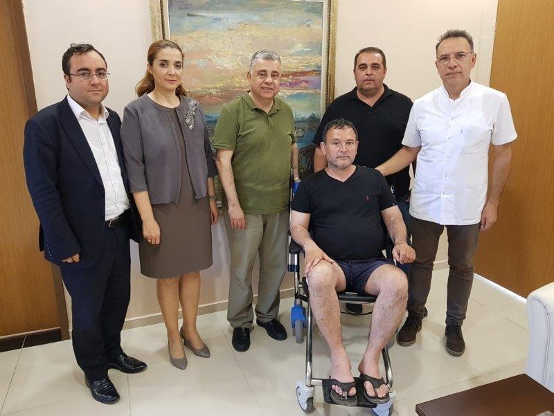 İzmir'de akılalmaz olay! Bacağına öyle bir şey saplandı ki doktorlar şok oldu
