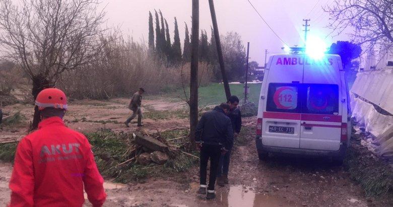 Bodrum'da sel felaketi! Sele kapılan araçtaki Çağlar ve nişanlısı Billur hayatını kaybetti