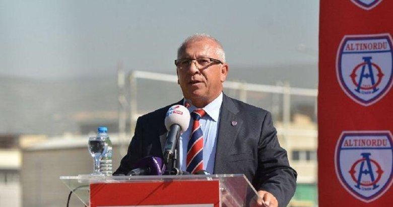 Altınordu Kulübü Başkanı Özkan: Dünya futbolu artık eskisi gibi olmayacak