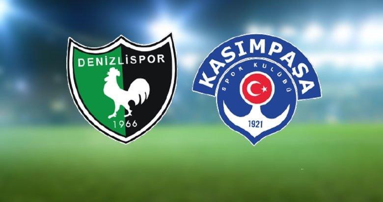 Denizlispor 1 - Kasımpaşa 1 | MAÇ SONUCU