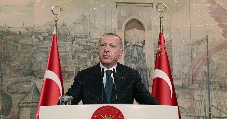 Başkan Erdoğan'dan seçim mesajı: Daha çok hedefimiz var.