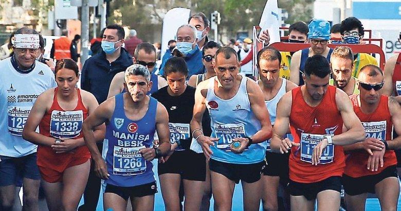 Maratonda Afrika rüzgarı