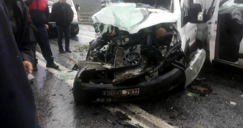 Aydın'da zincirleme kaza! 1 ölü, 3 yaralı