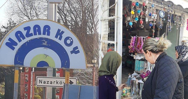 İzmir'in boncuk ocaklarıyla ünlü Nazarköy'e ziyaretçi akını