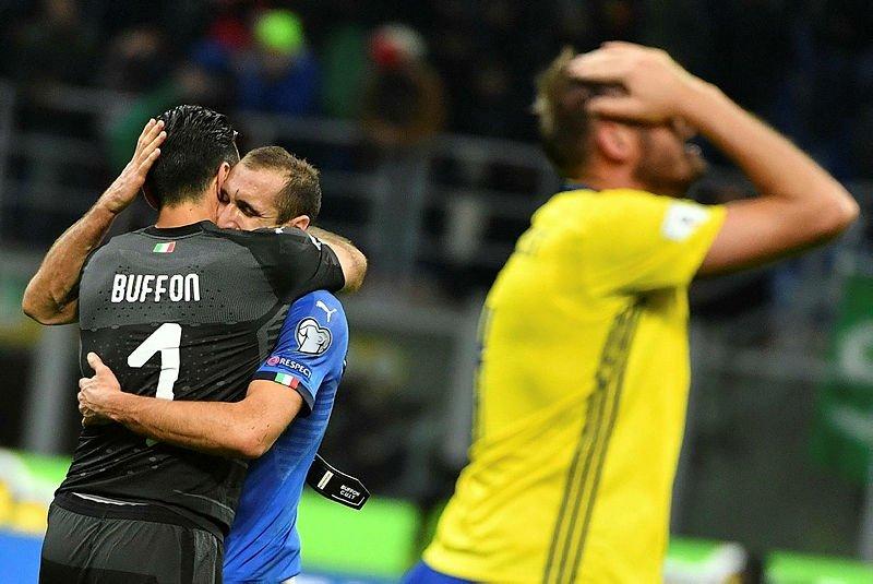İtalya 60 yıl sonra Dünya Kupası'nda yok