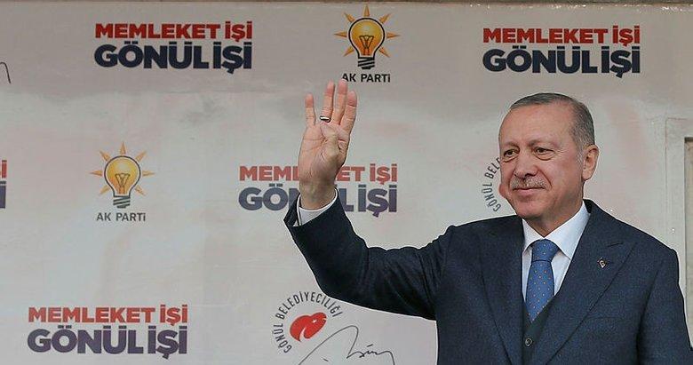 Başkan Erdoğan'dan Manisa'da önemli açıklamalar