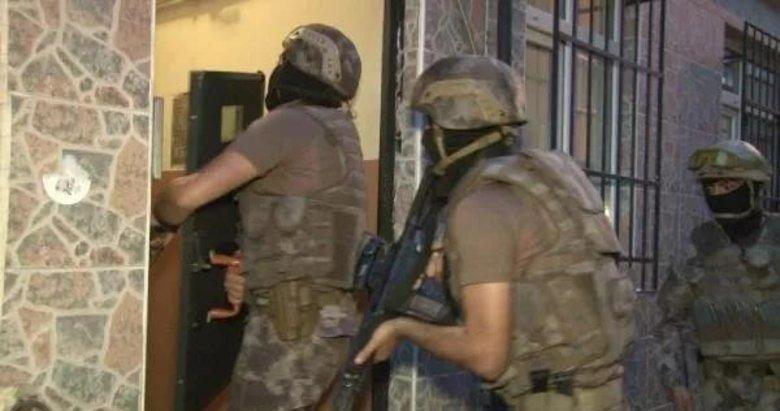 İzmir'in 14 ilçesinde uyuşturucu operasyonu! 20 şüpheli yakalandı